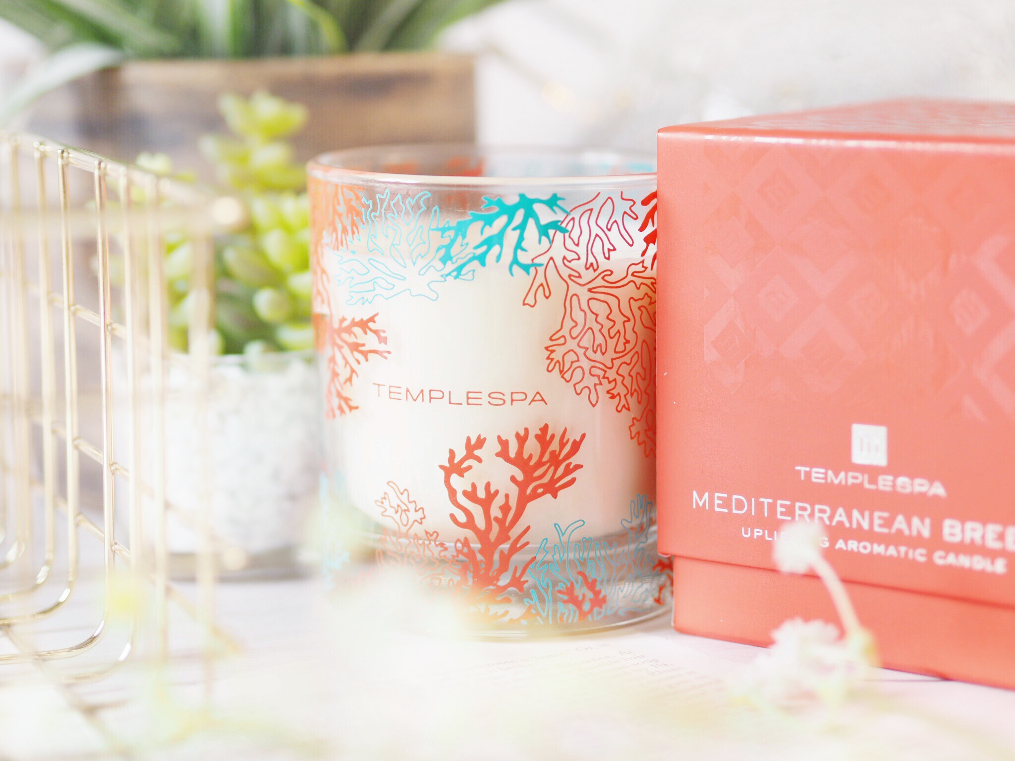 Temple Spa Mediterranean Breeze Aromatic Candle
