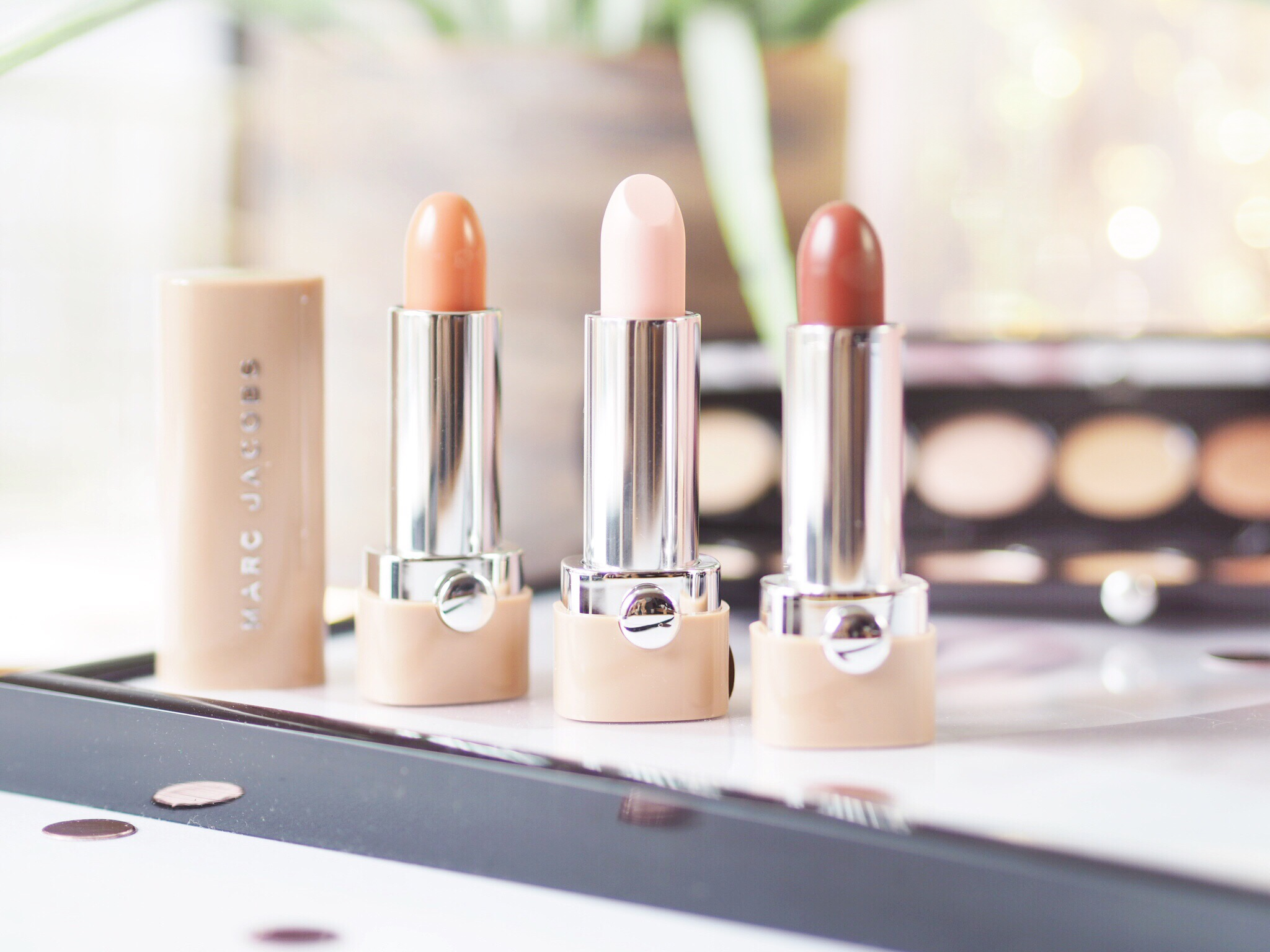 Marc Jacobs Beauty New Nudes Lipstick Review