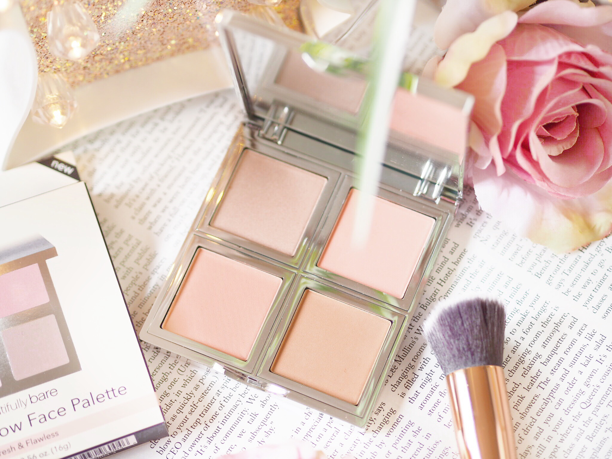E.L.F Beautifully Bare Natural Glow Face Palette