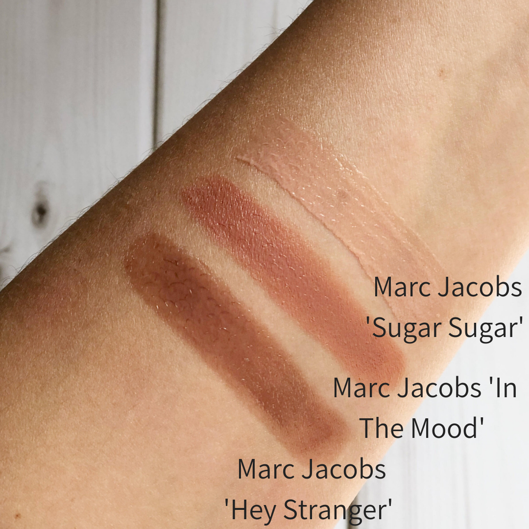 Marc Jacobs New Nudes Lipstick Swatches