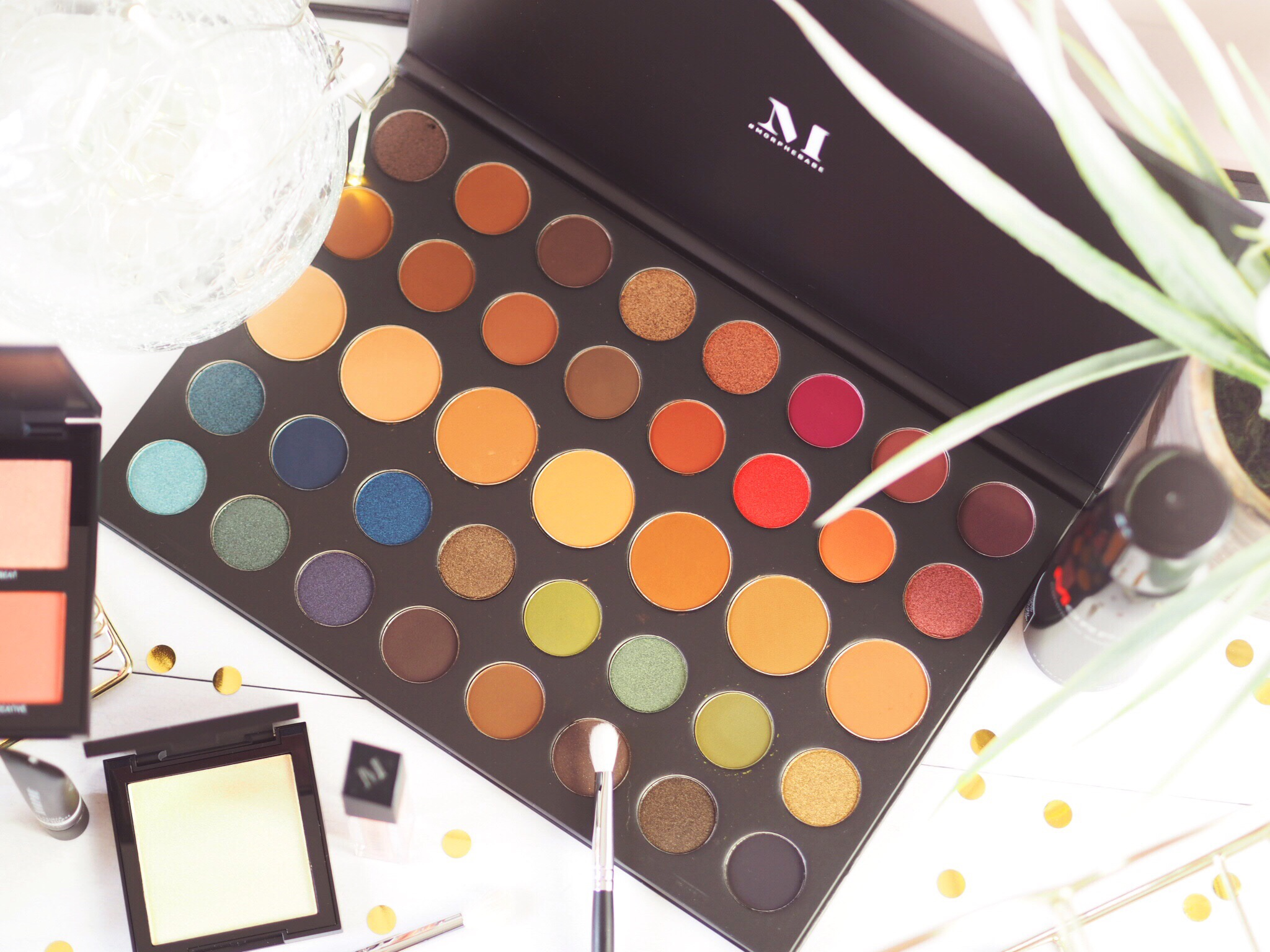 Morphe 39A Dare To Create Artistry Eyeshadow Palette