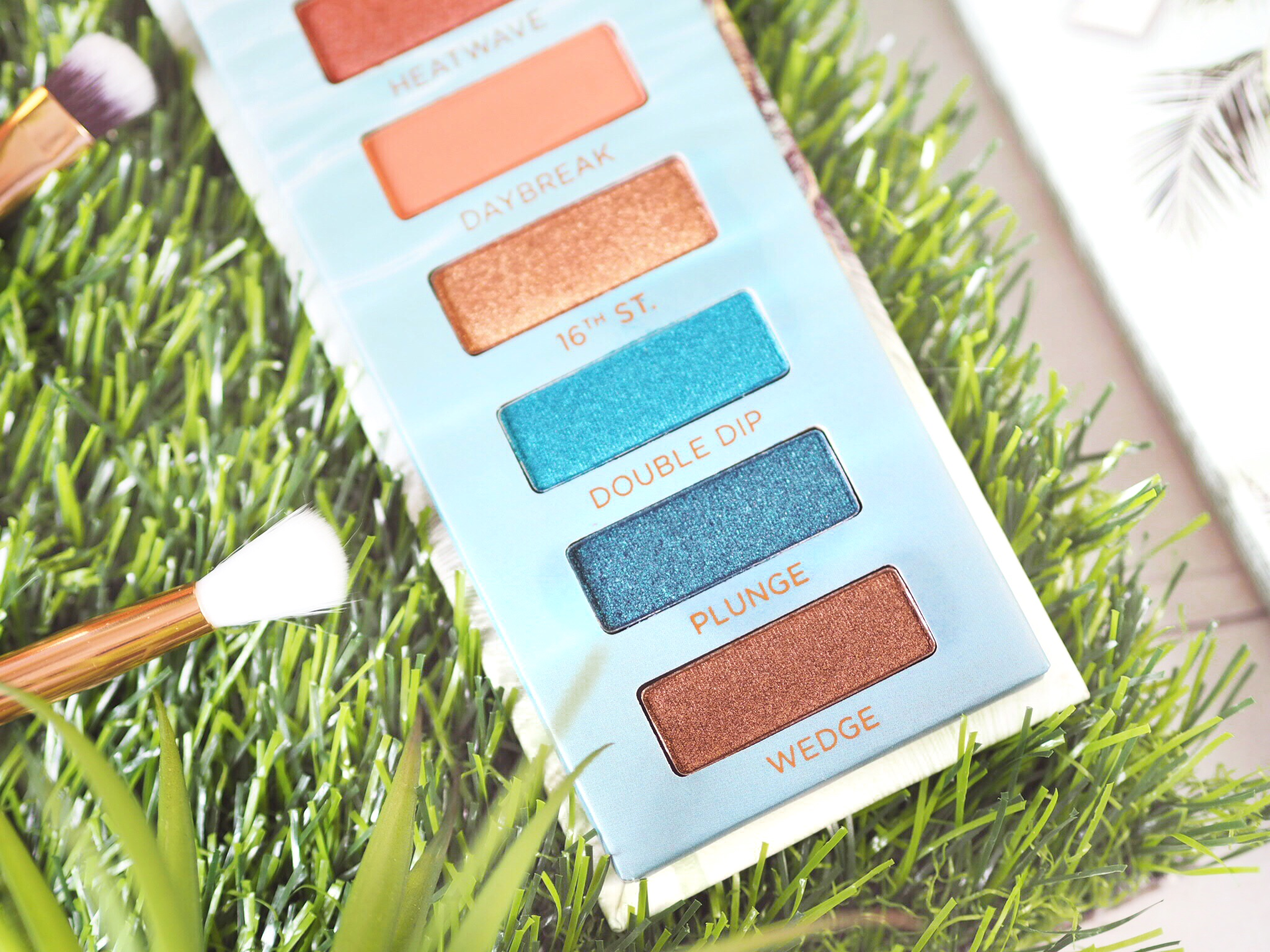 Urban Decay Beached Palette Review