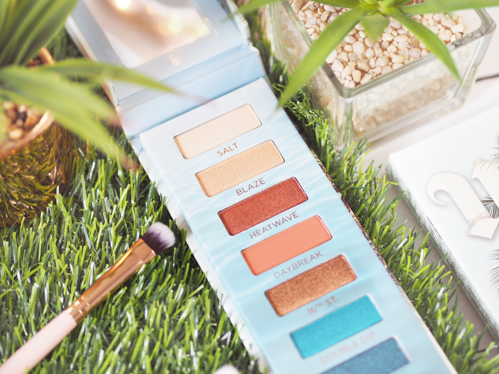 Urban Decay Beached Palette Review & Swatches