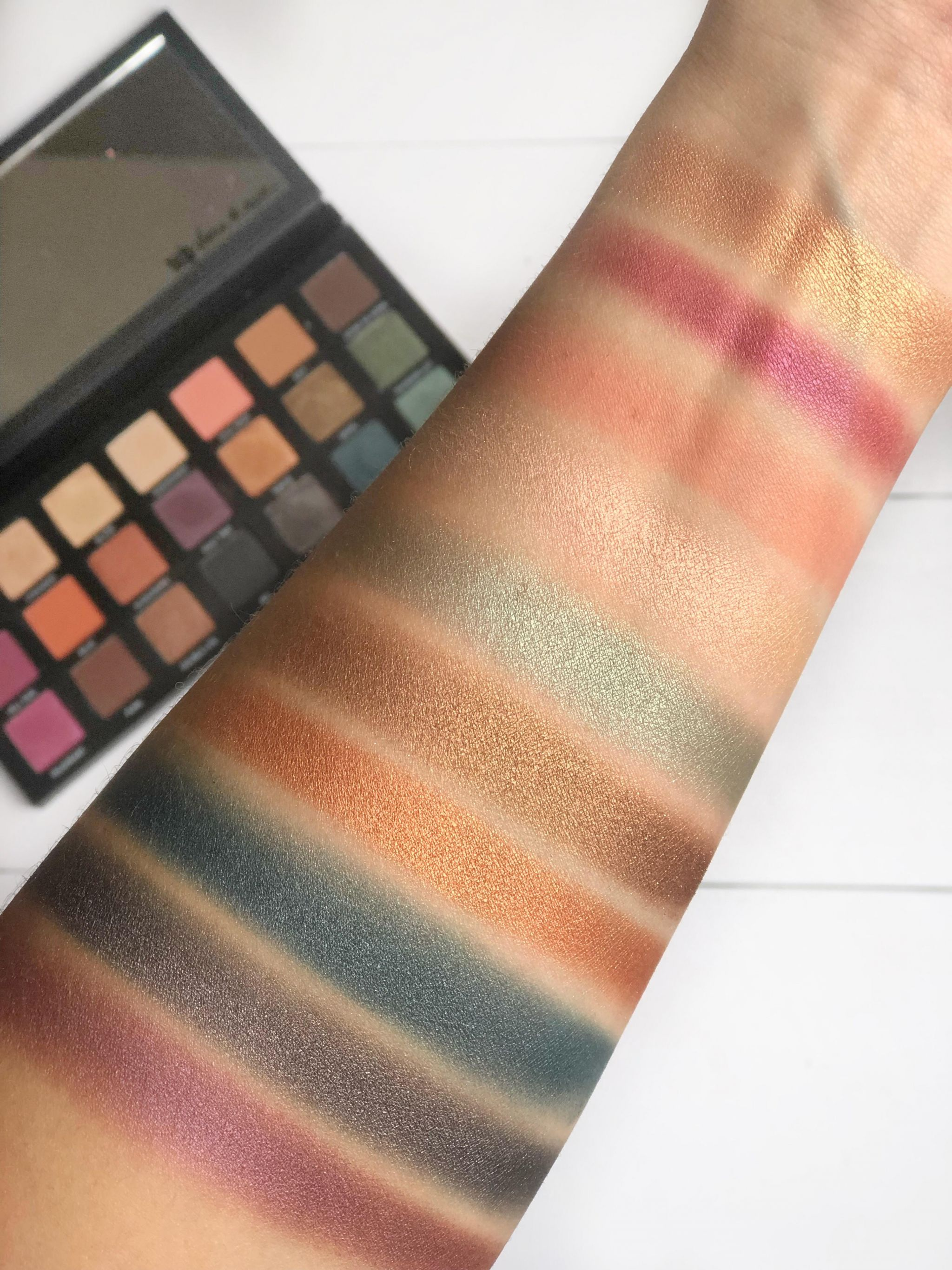 Urban Decay Born To Run Swatches
