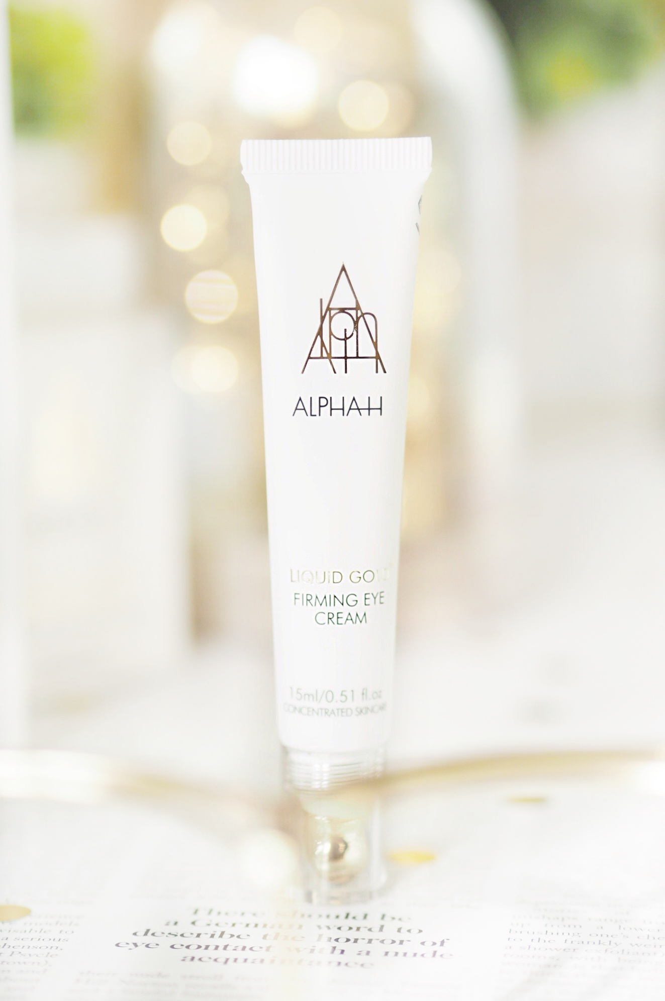 Alpha-H Liquid Gold Firming Eye Cream Review