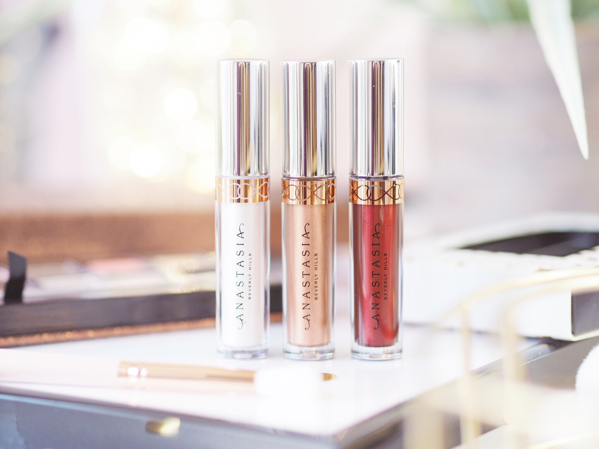 Anastasia Beverly Hills Holiday Collection Metallic Liquid Lipstick Set Review