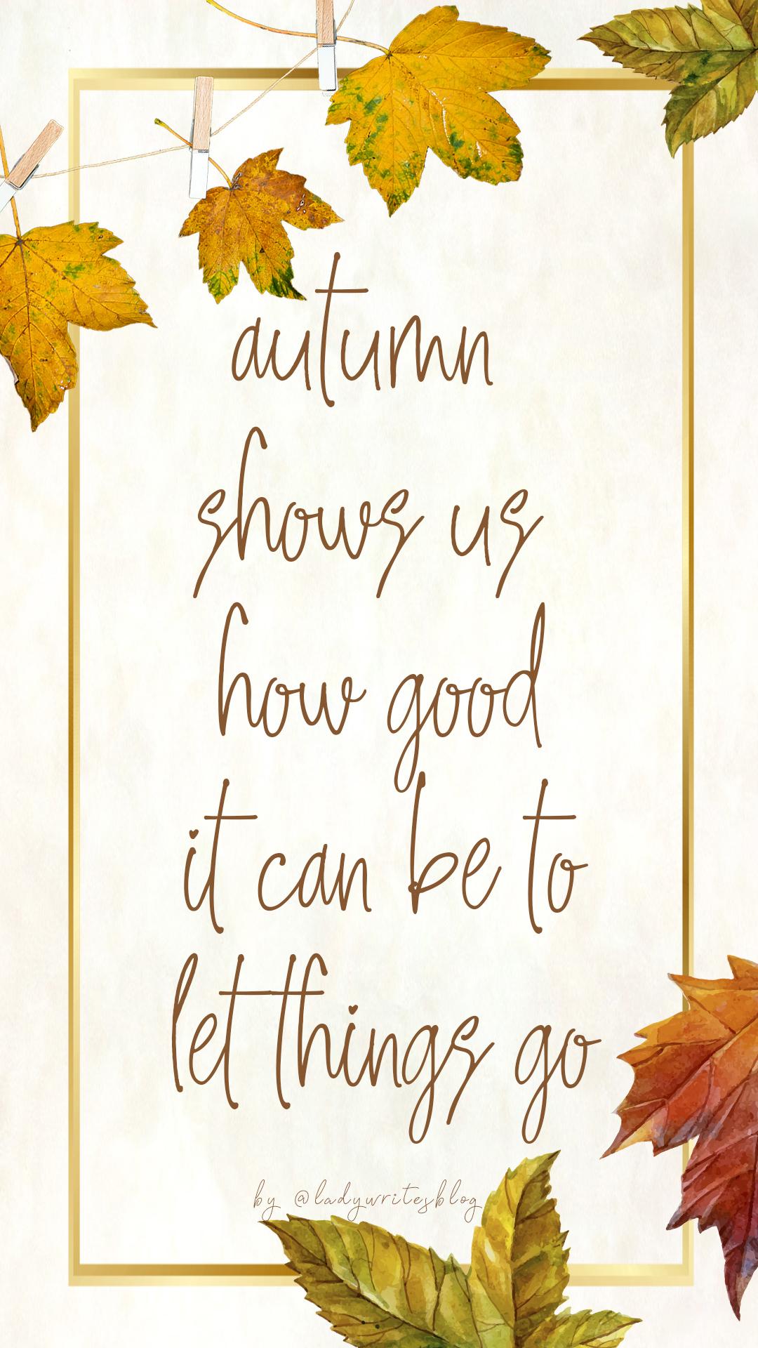 Free Autumn insta stories