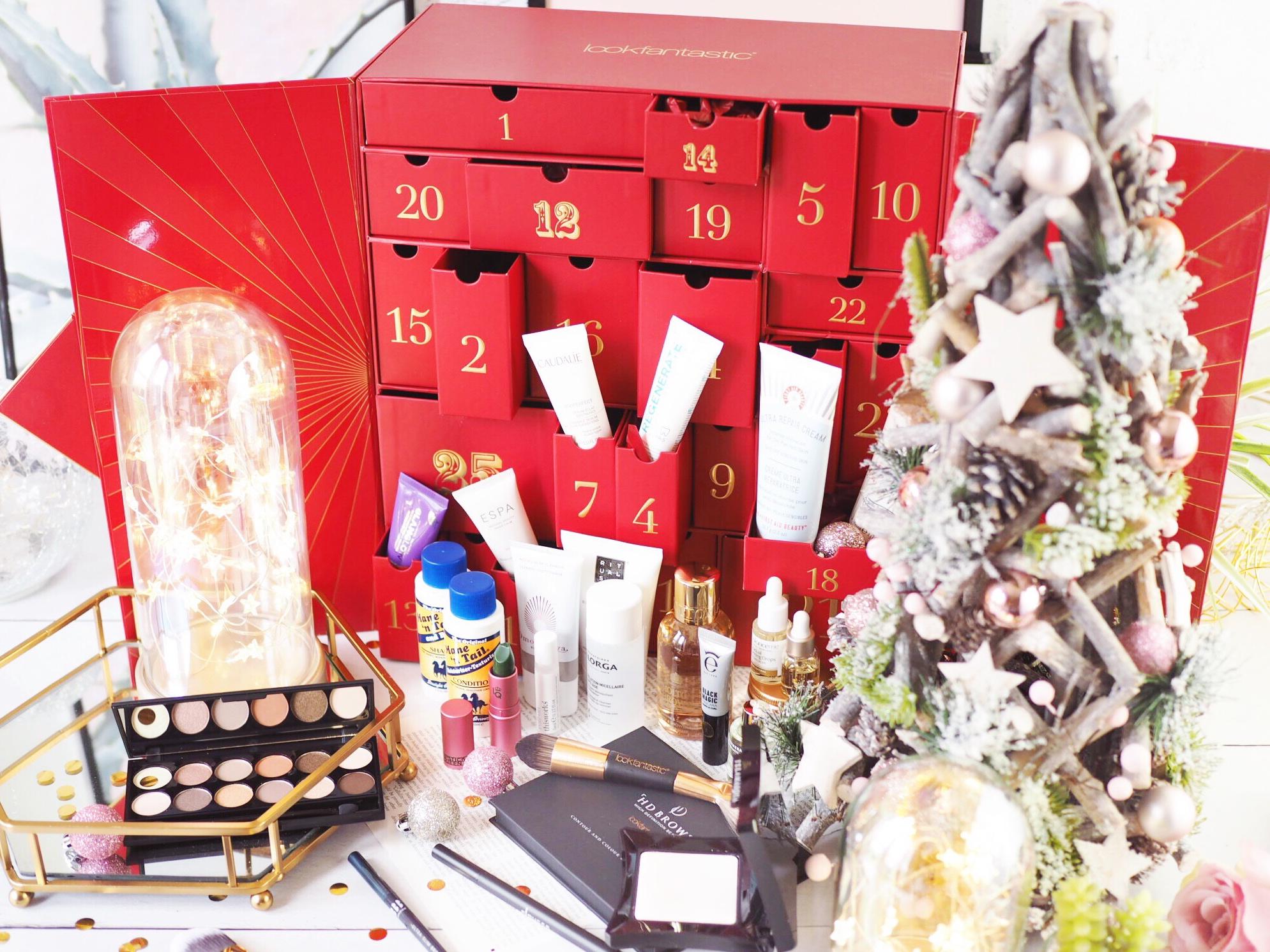 Look Fantastic Advent Calendar Contents