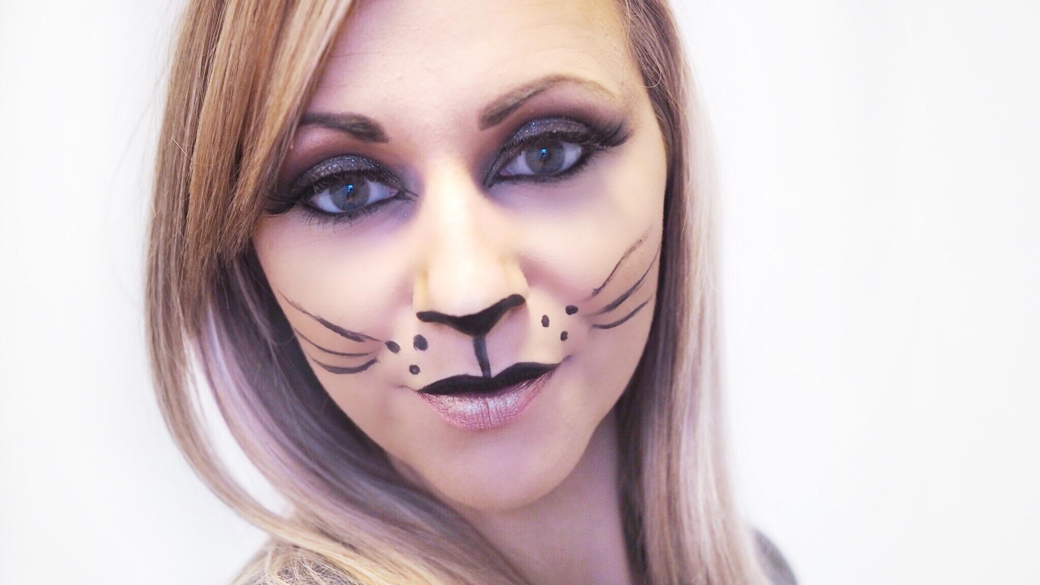 My Quick & Easy Cat Inspired Halloween Look
