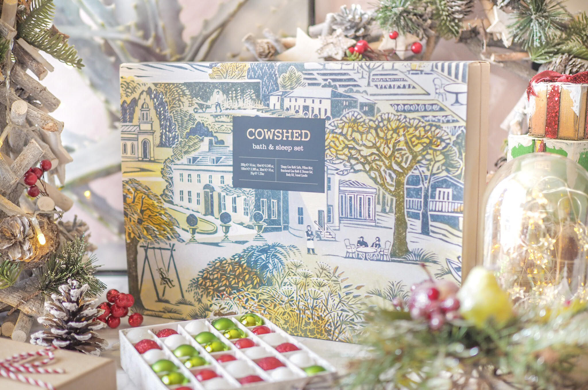 Cowshed Bath and Sleep Set Review