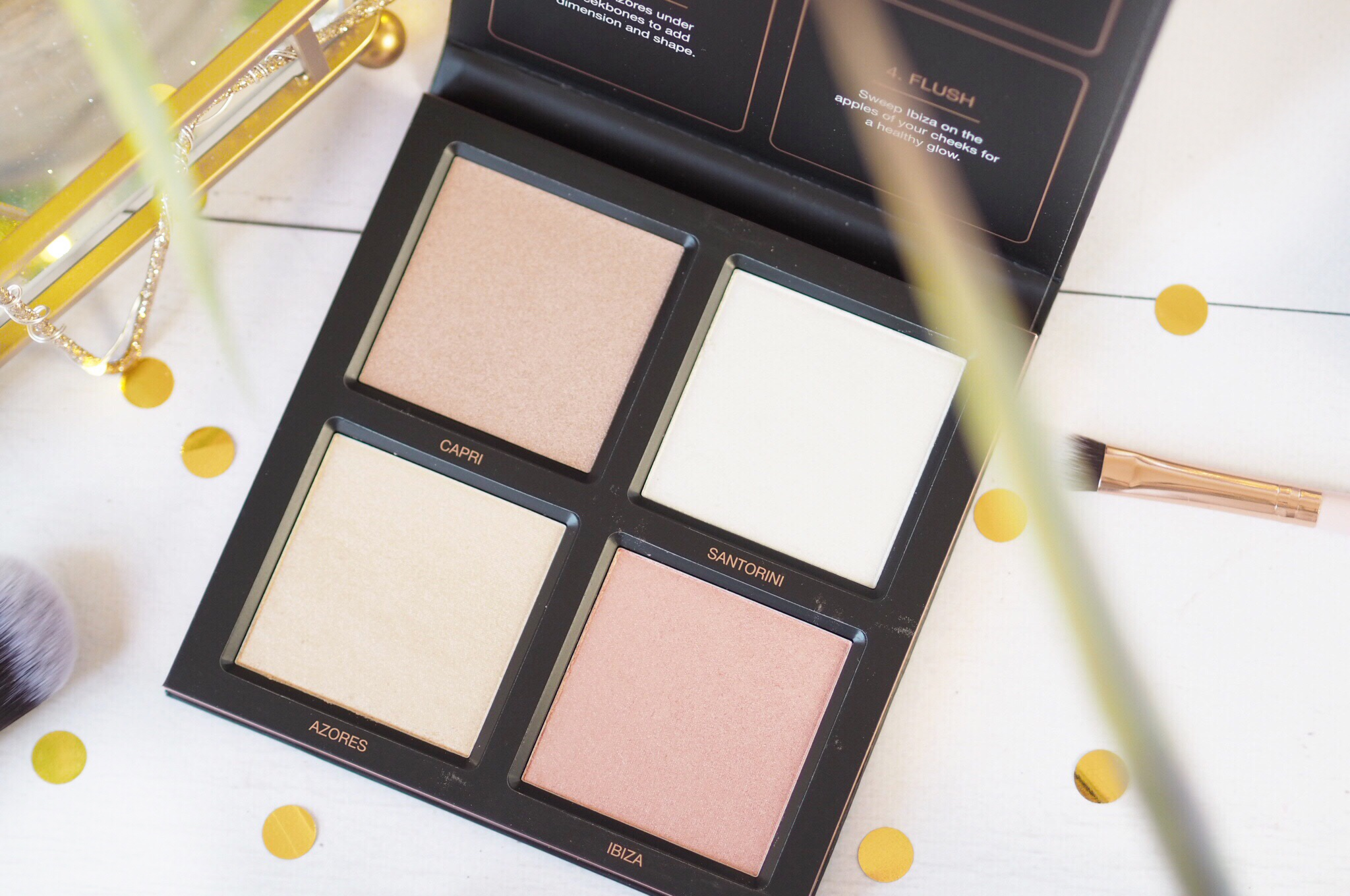 Huda 3D Highlight Palette Review