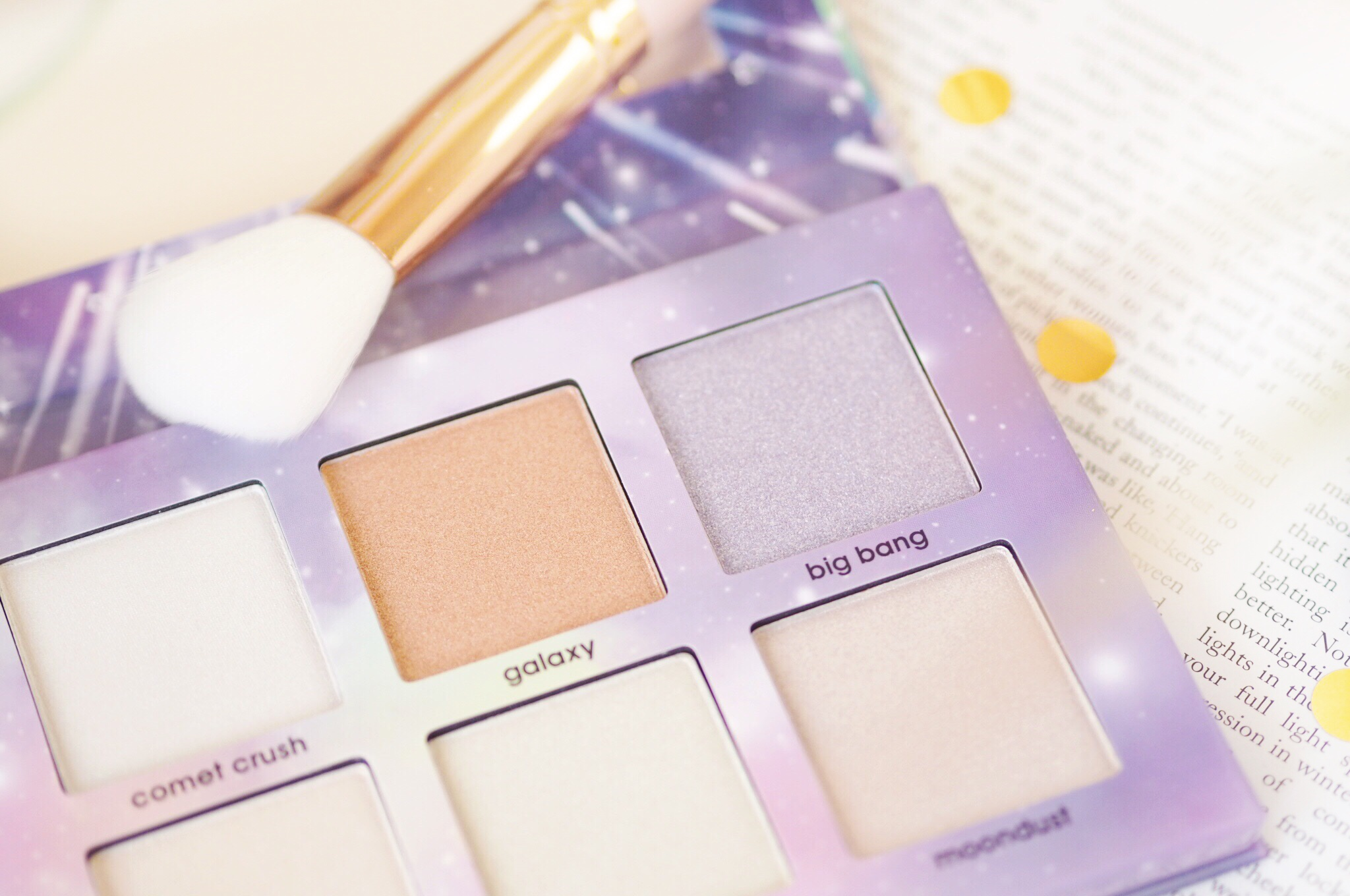 Misslyn Cosmo Glam Highlighter Palette Review