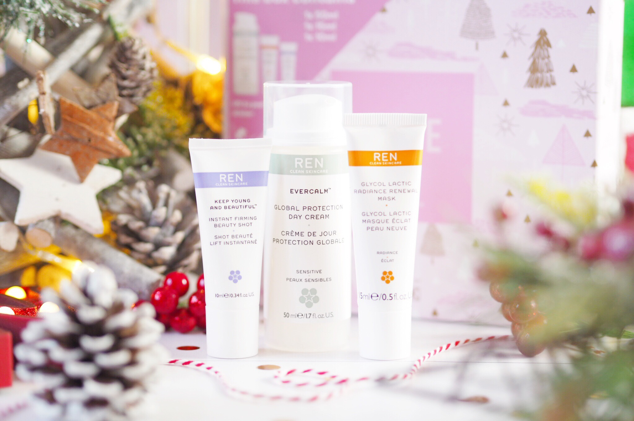 Ren Clean Skincare Face Favourites Christmas Gift Set