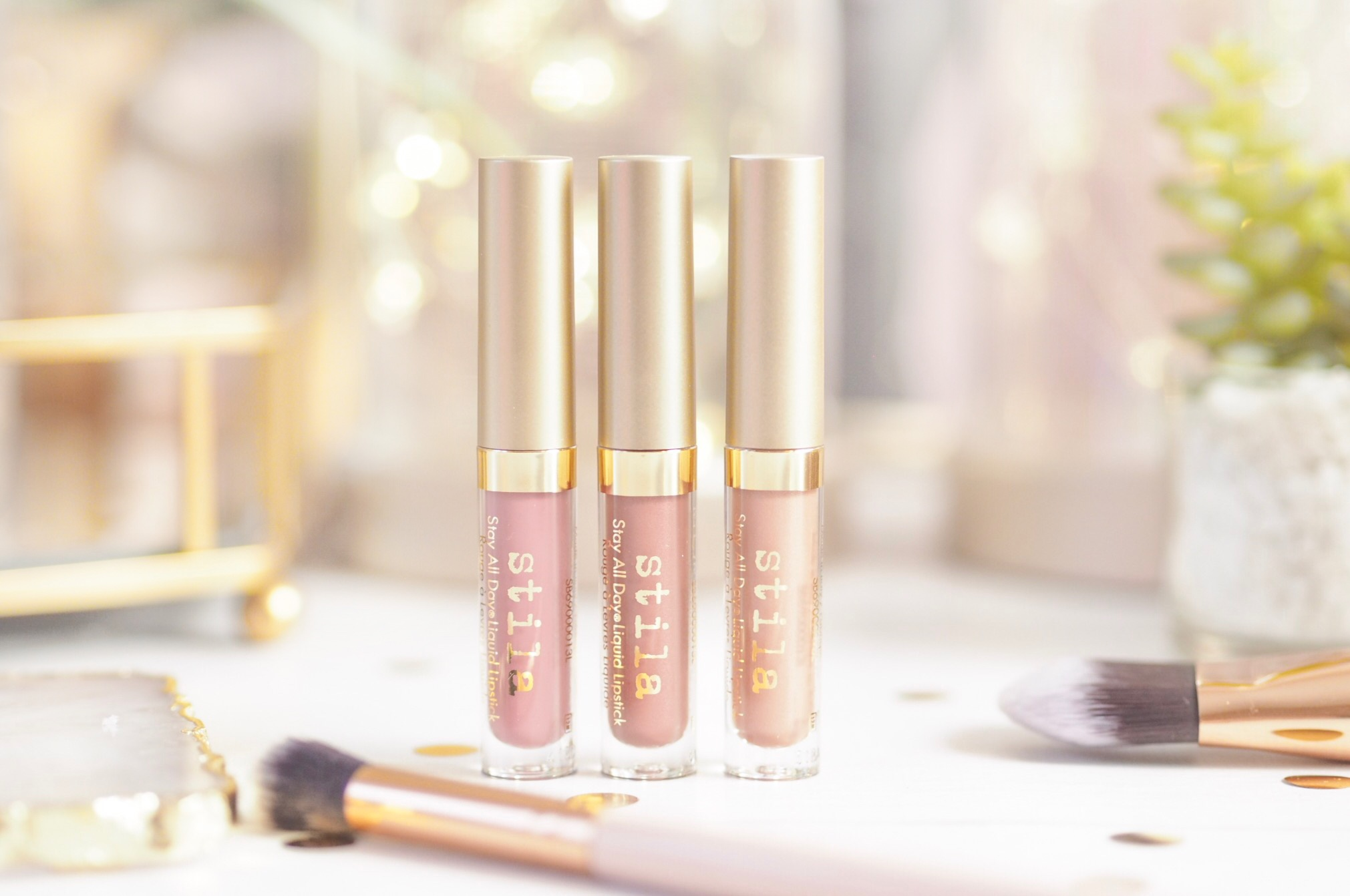 Stila Stay All Day Liquid Lipstick Set in Nude Attitude
