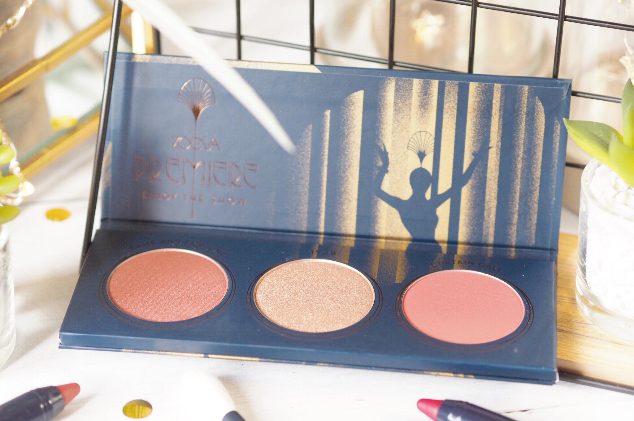 Zoeva Premiere Blush Palette