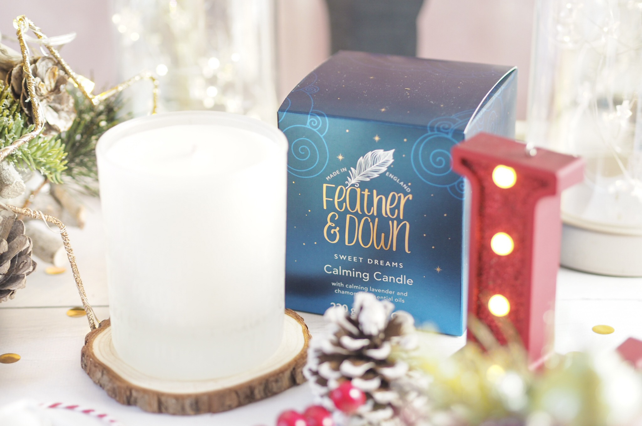 Feather & Down Calming Candle