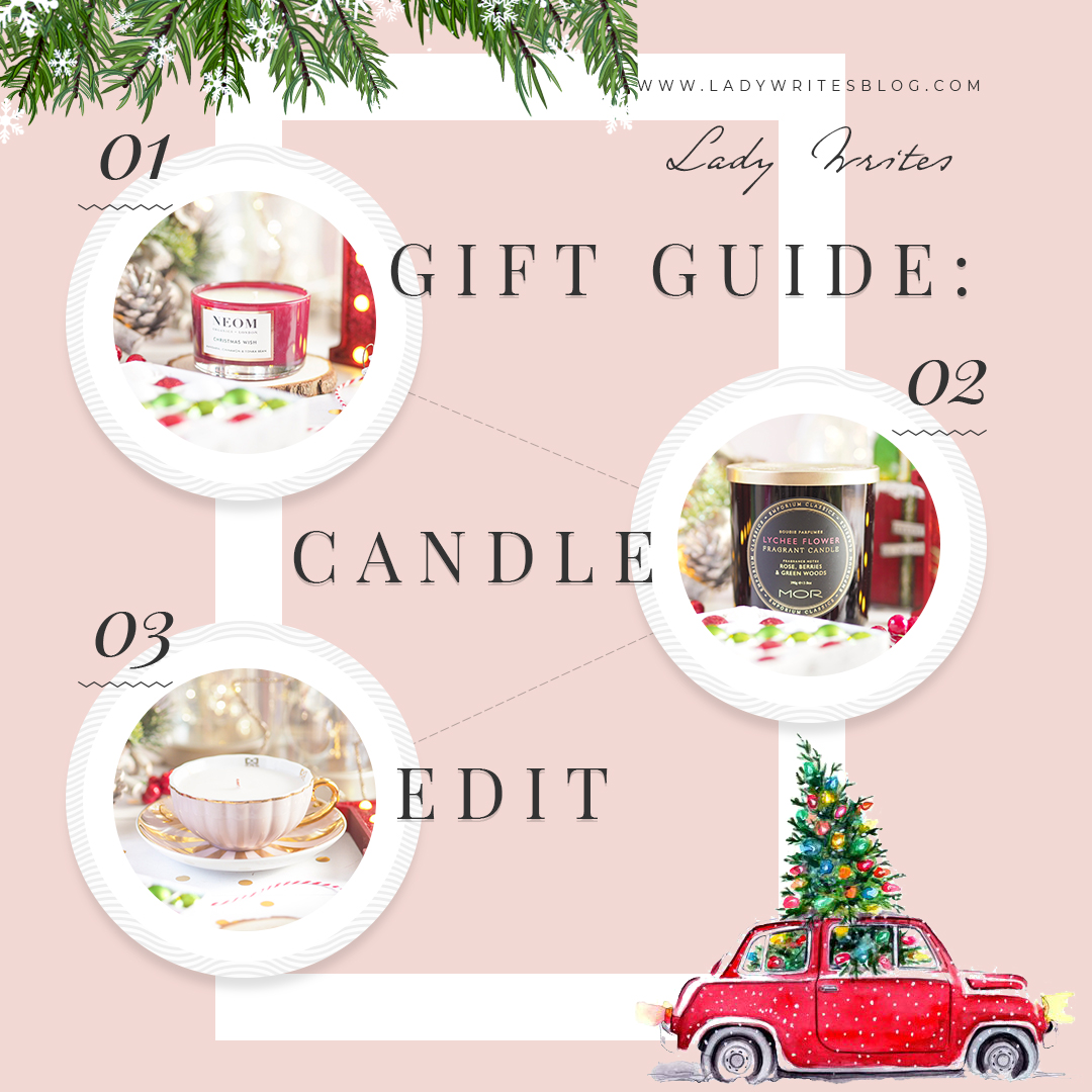 Gift Guide Candle Edit