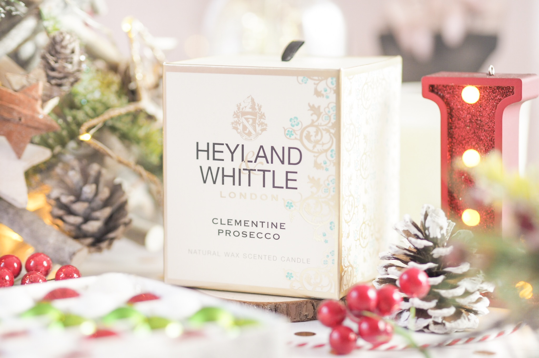 Heyland & Whittle Clementine & Prosecco Candle Review