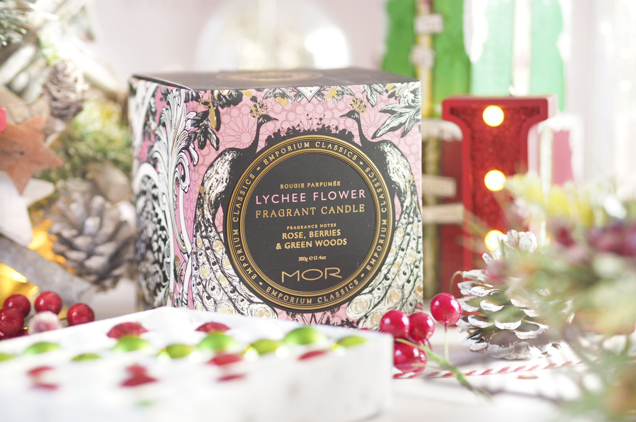 MOR Emporium Classics Lychee Flower Candle