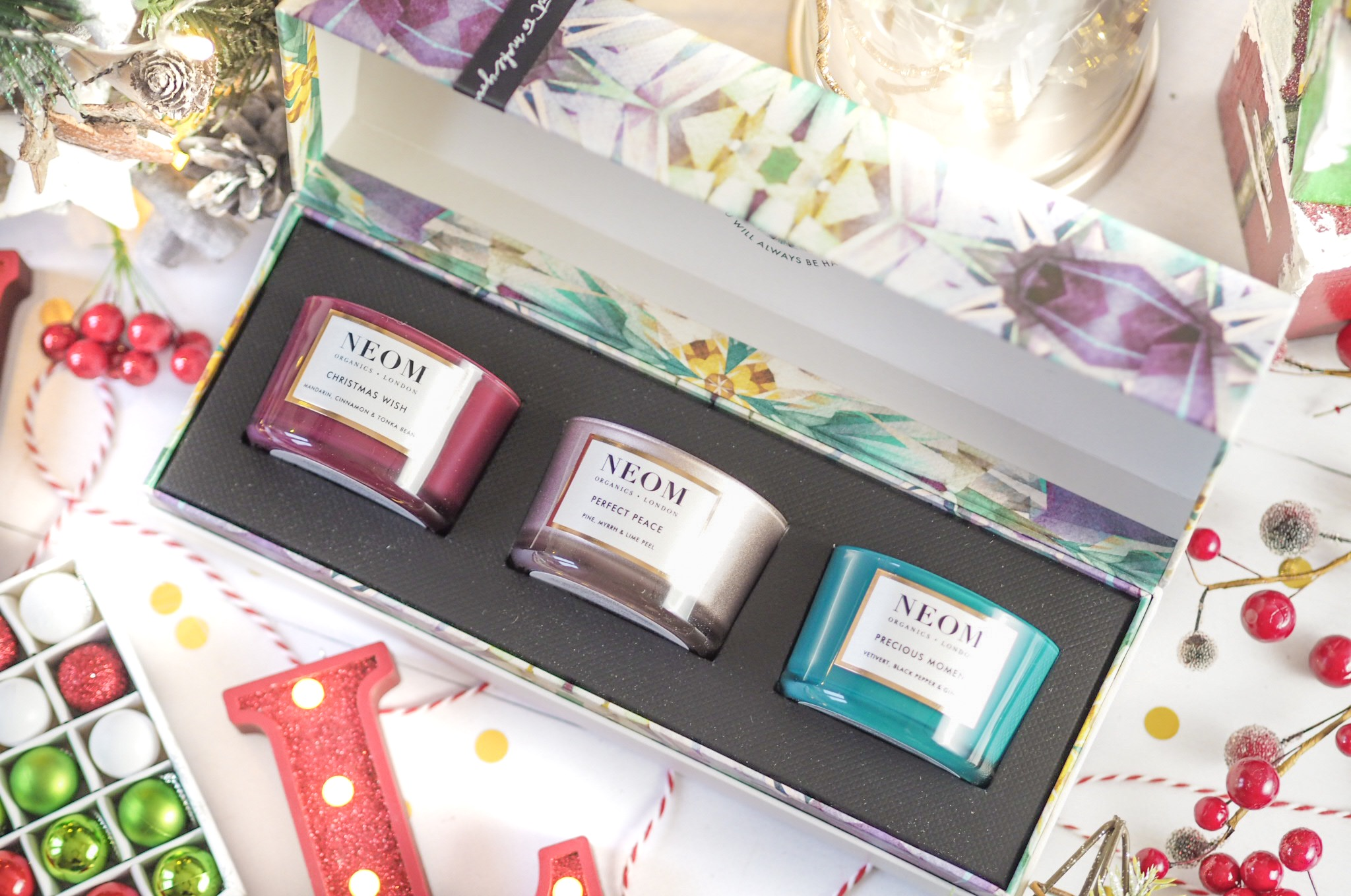 Neom Scents of Wellbeing Christmas Trio