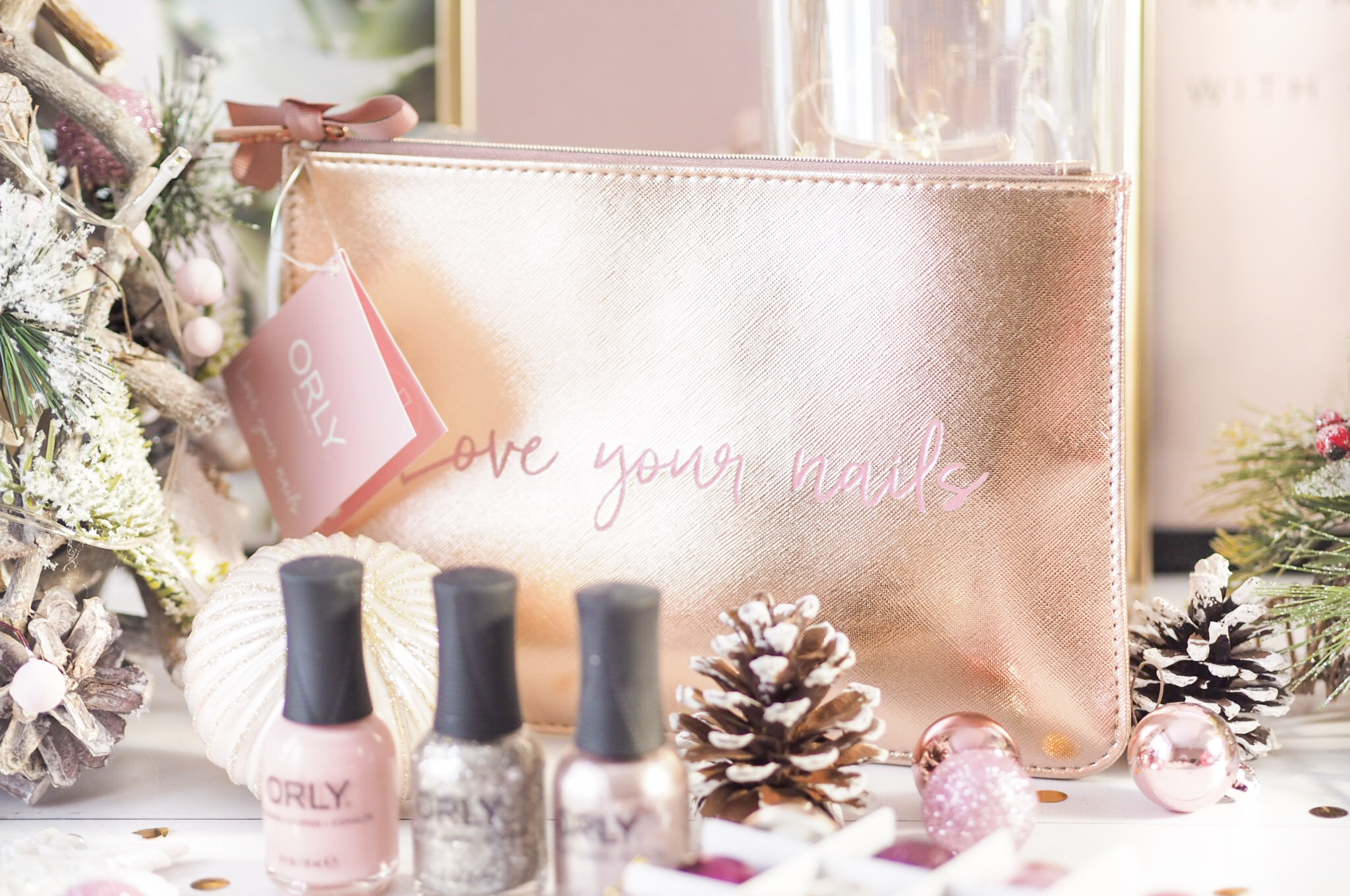 ORLY Rose Gold Set - Christmas