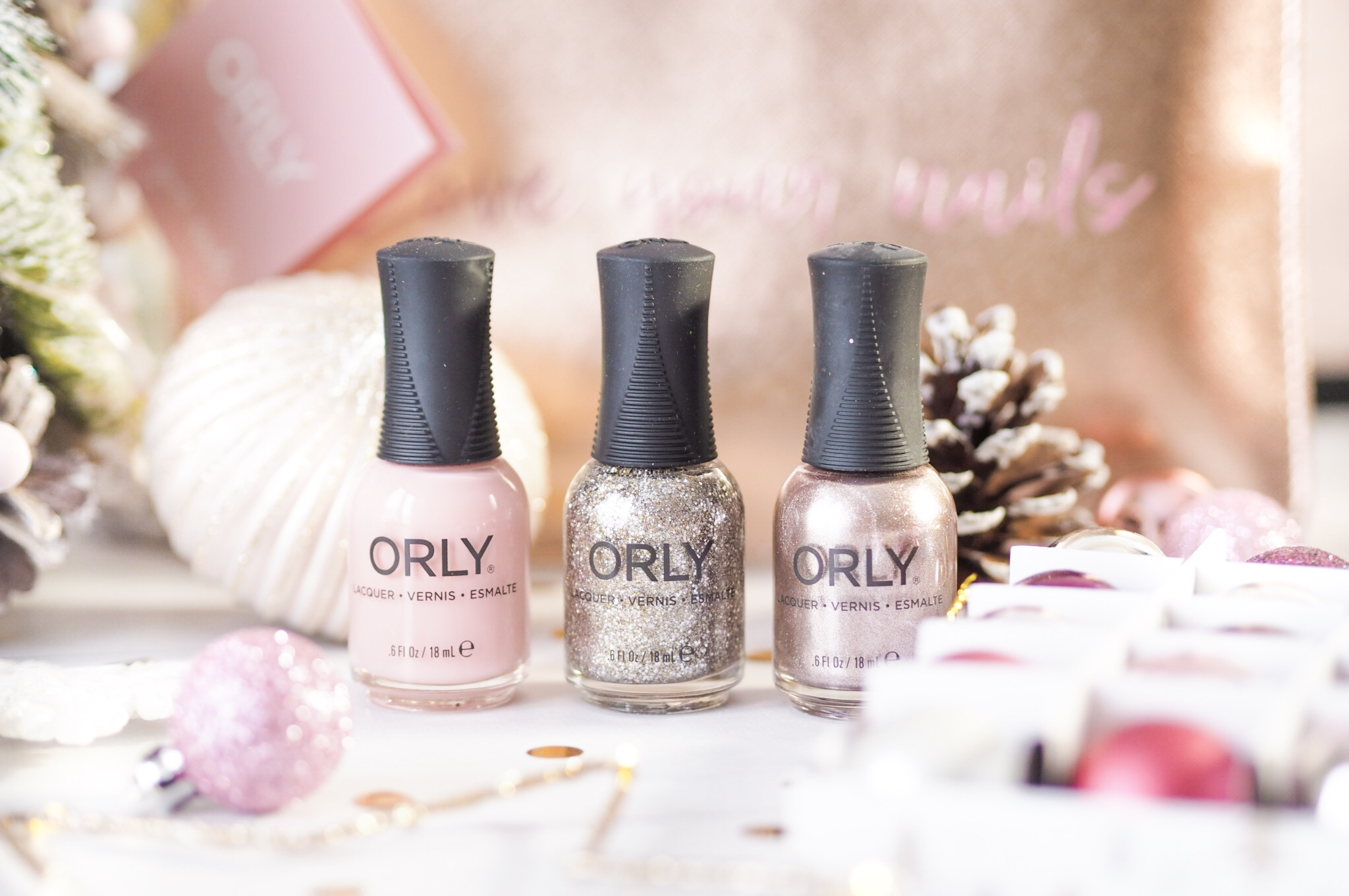 ORLY Rose Gold Set