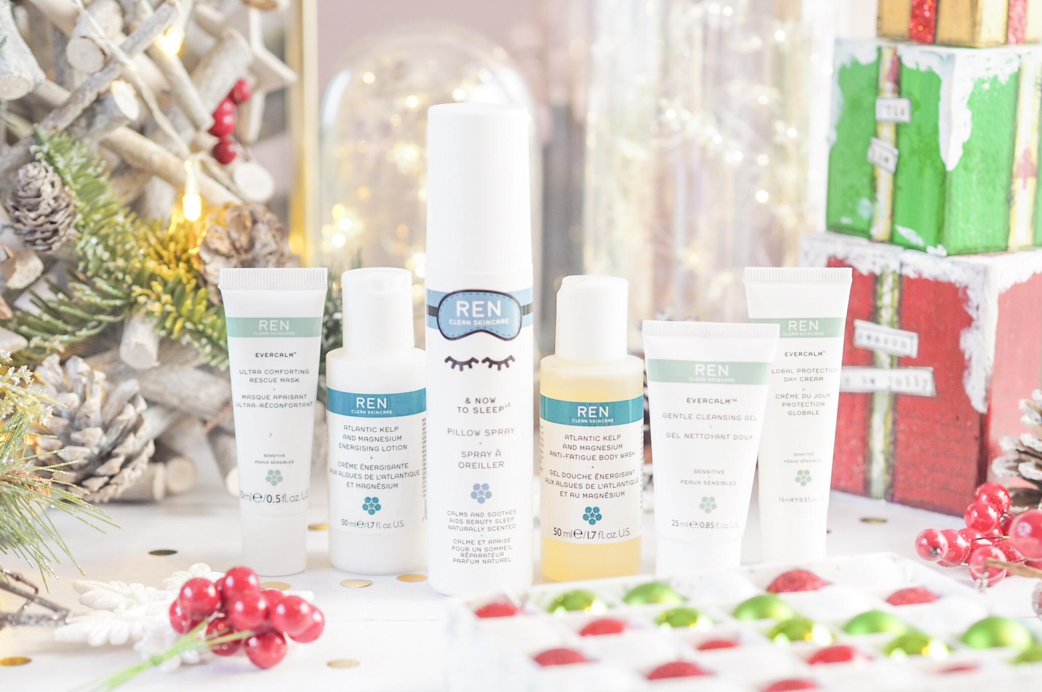 REN Clean Skincare Getaway Kit Christmas