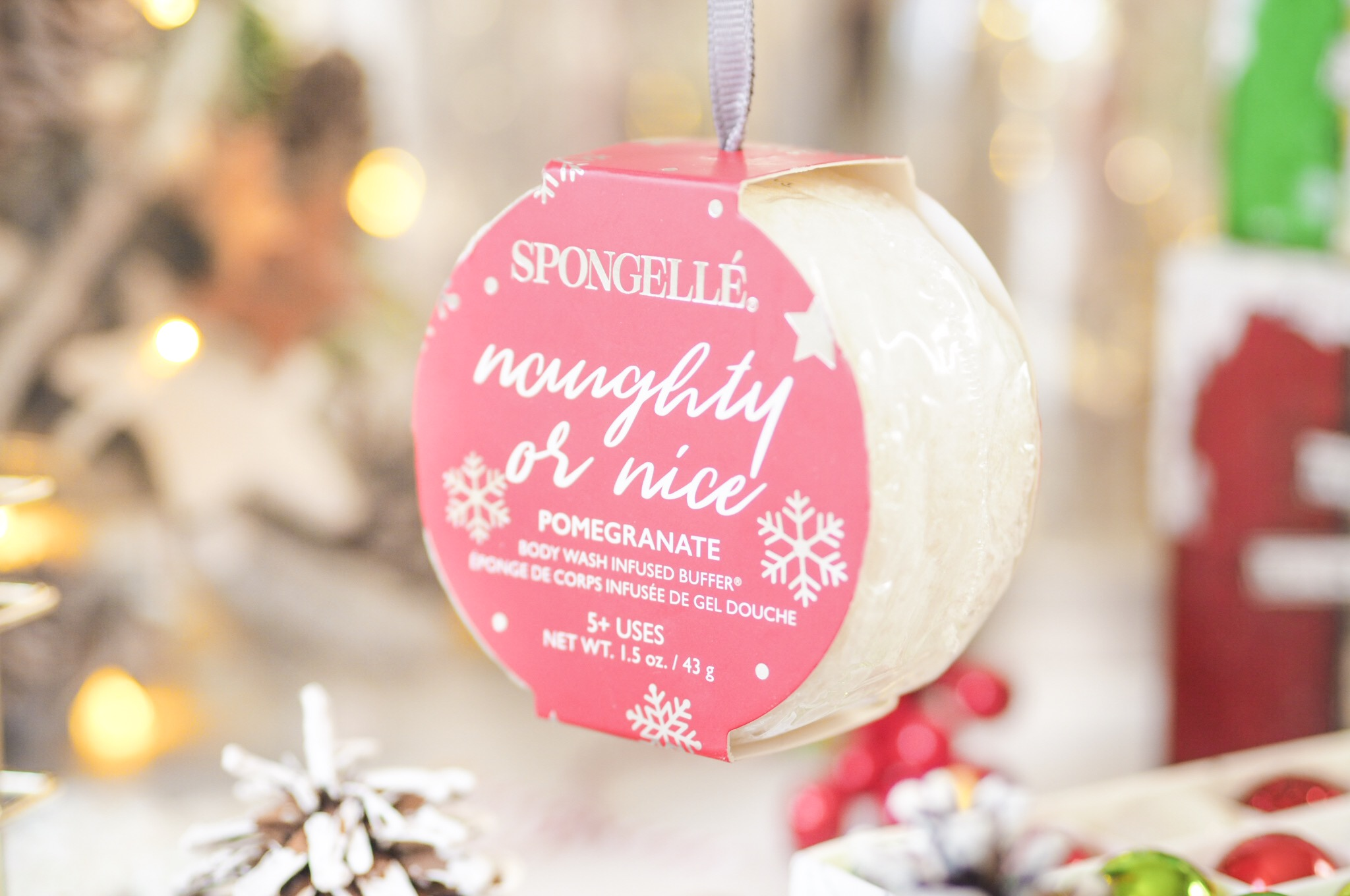 Spongelle Holiday Ornaments
