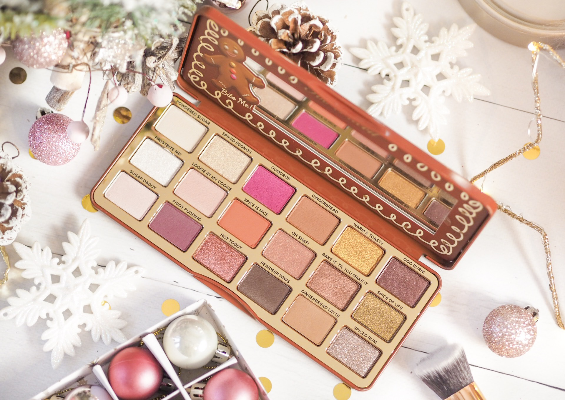 Too Faced Gingerbread Eyeshadow Palette Review