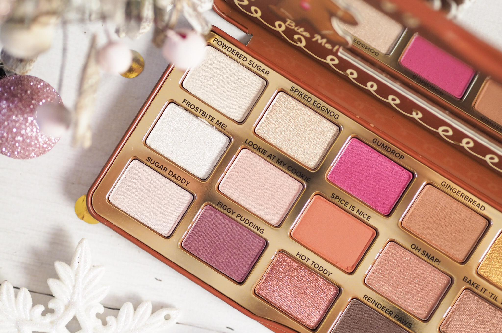Too Faced Gingerbread Spice Palette Review