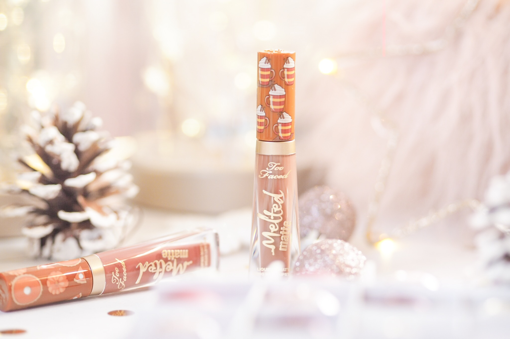 Too Faced Sweet Smell of Christmas Lipstick Review
