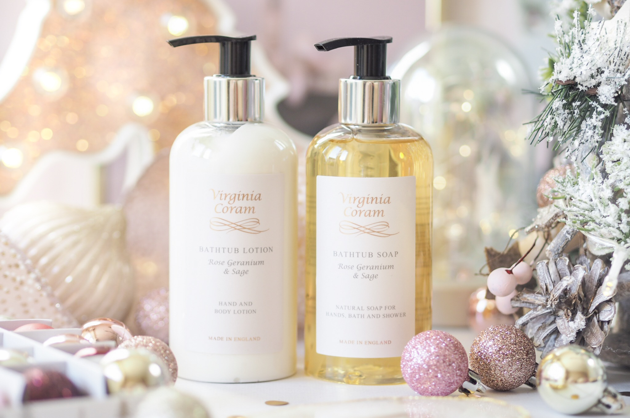 Virginia Coram Bathtub Gift Set