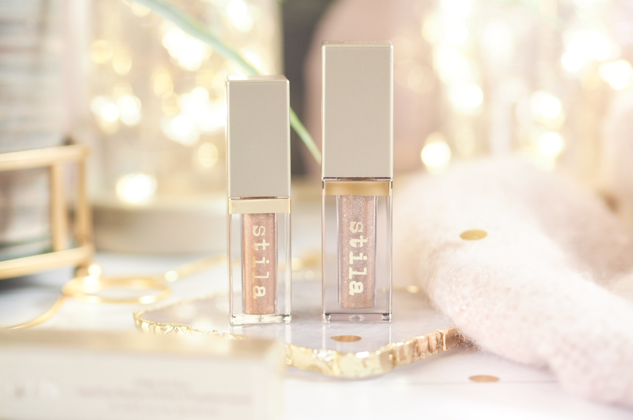 Stila Glitter & Glow Liquid Eye Shadows Review
