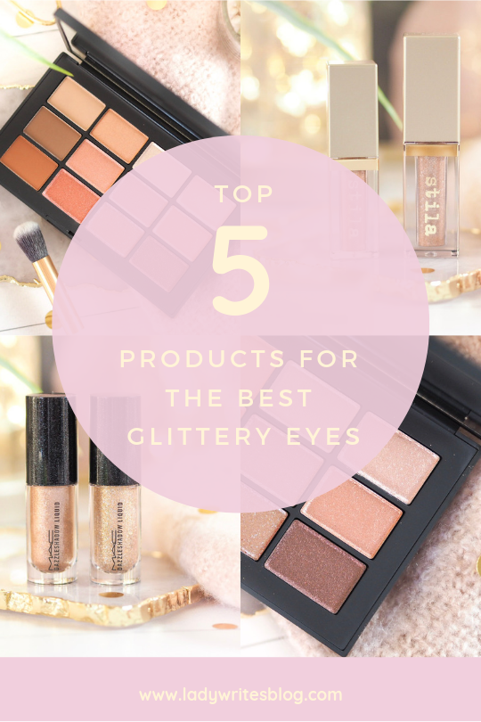 Top Products For The Best Glittery Eyes
