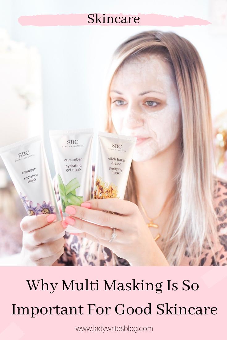 multi masking skincare