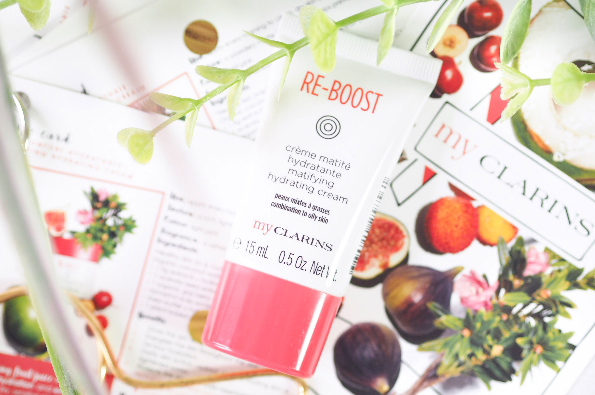 My Clarins Re-Boost Matifying Hydrating Cream Review