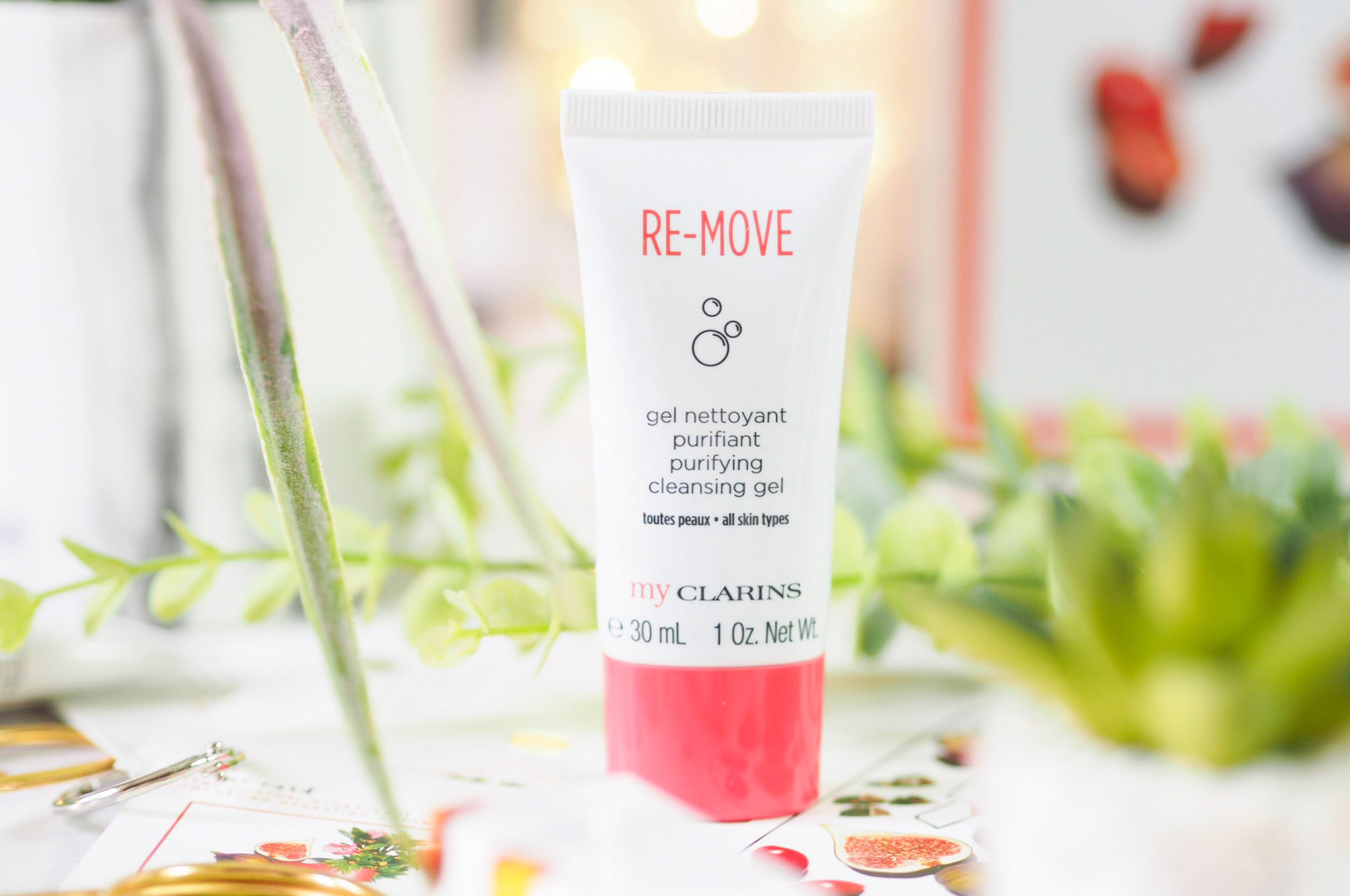 My Clarins Re-Move Purifying Cleansing Gel Review