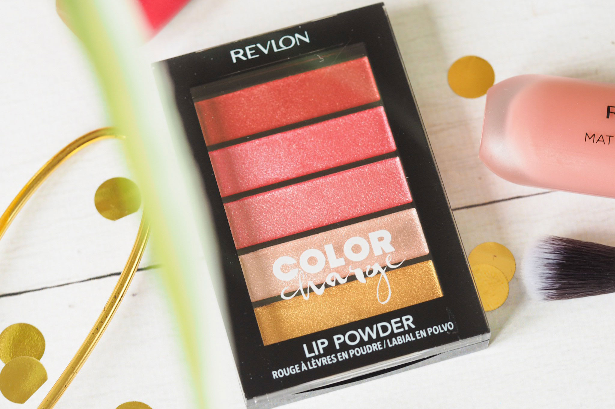 Revlon Color Charge Lip Powders