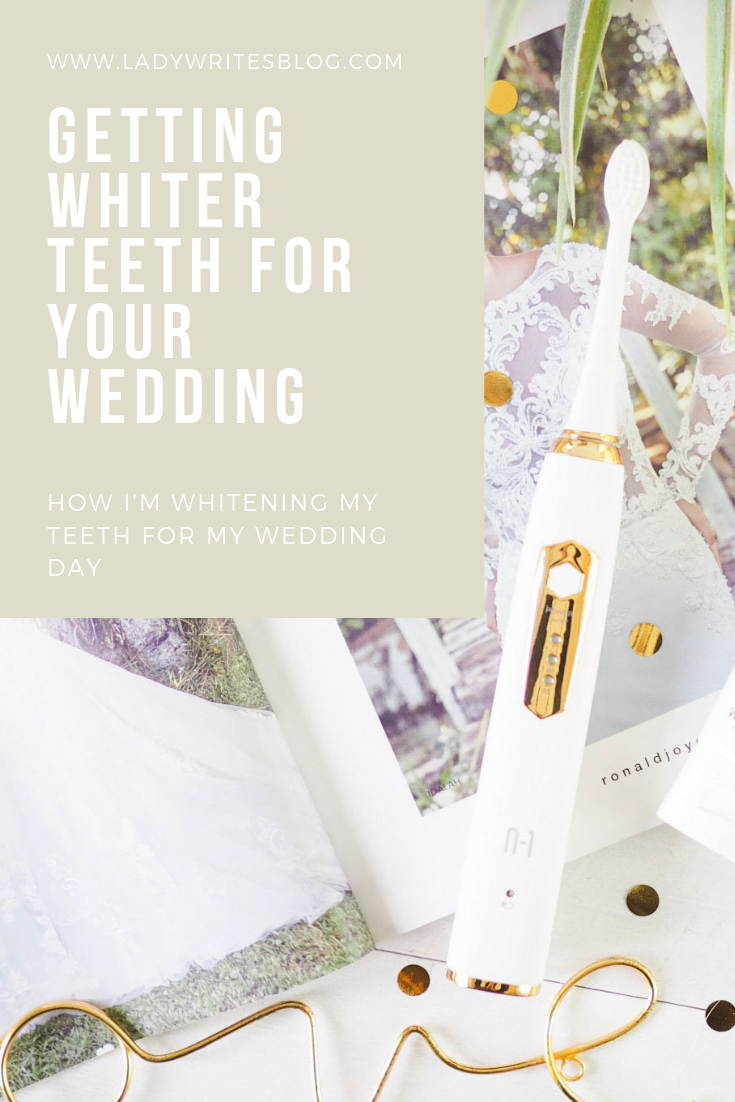 Whitening your teeth for your wedding