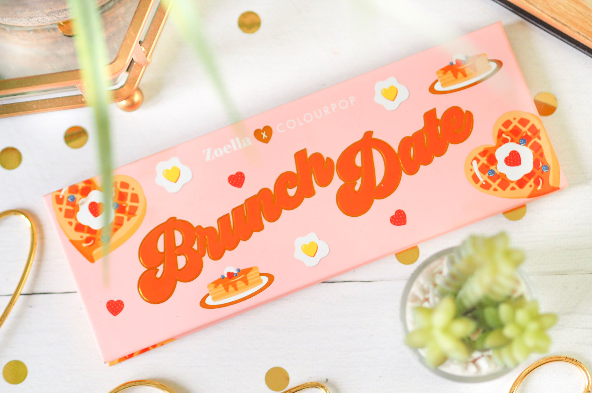 Zoella x Colourpop Brunch Date Eyeshadow Palette