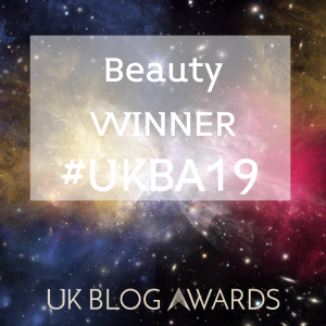 Beauty Winner #UKBA19