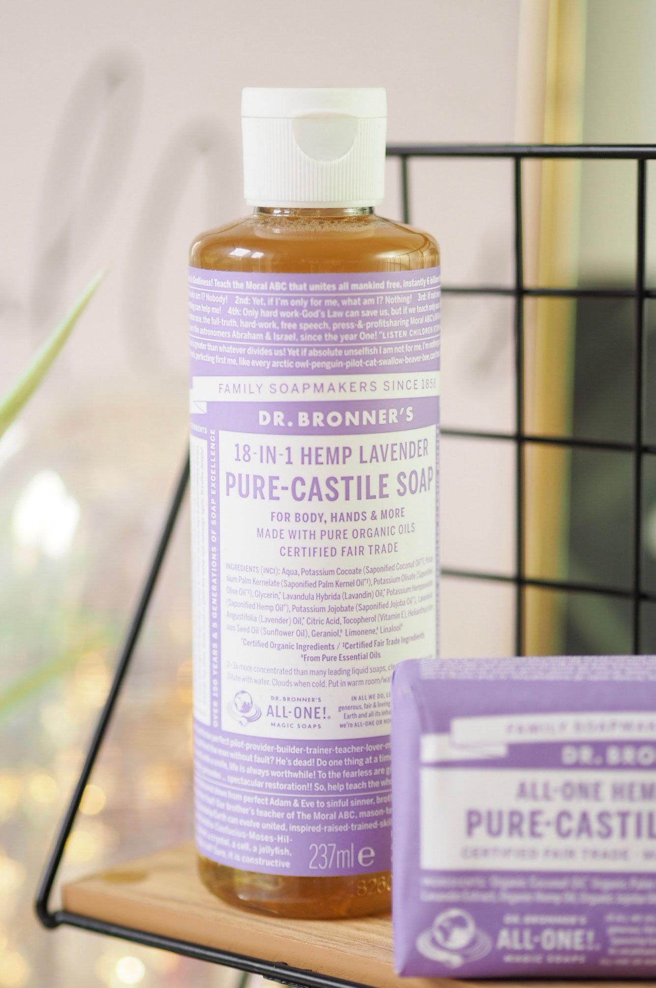 Dr Bronner Lavender Pure-Castile Liquid Soap