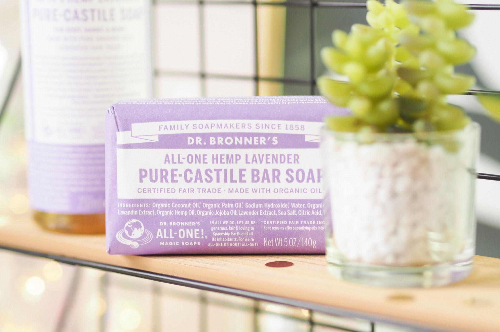 Dr Bronner Lavender Soap