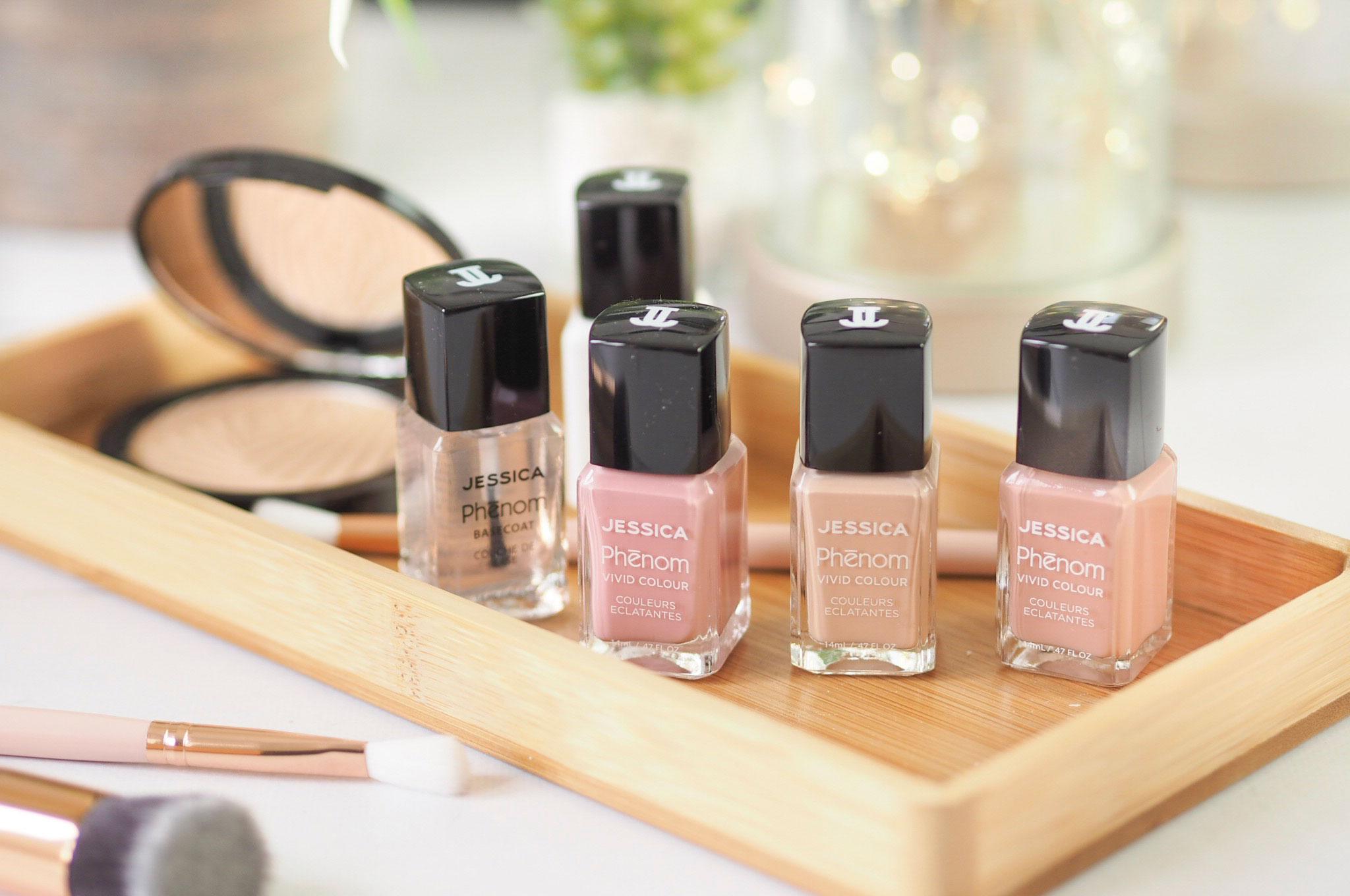 Jessica Phenom Blushing Beauty Nail Polishes