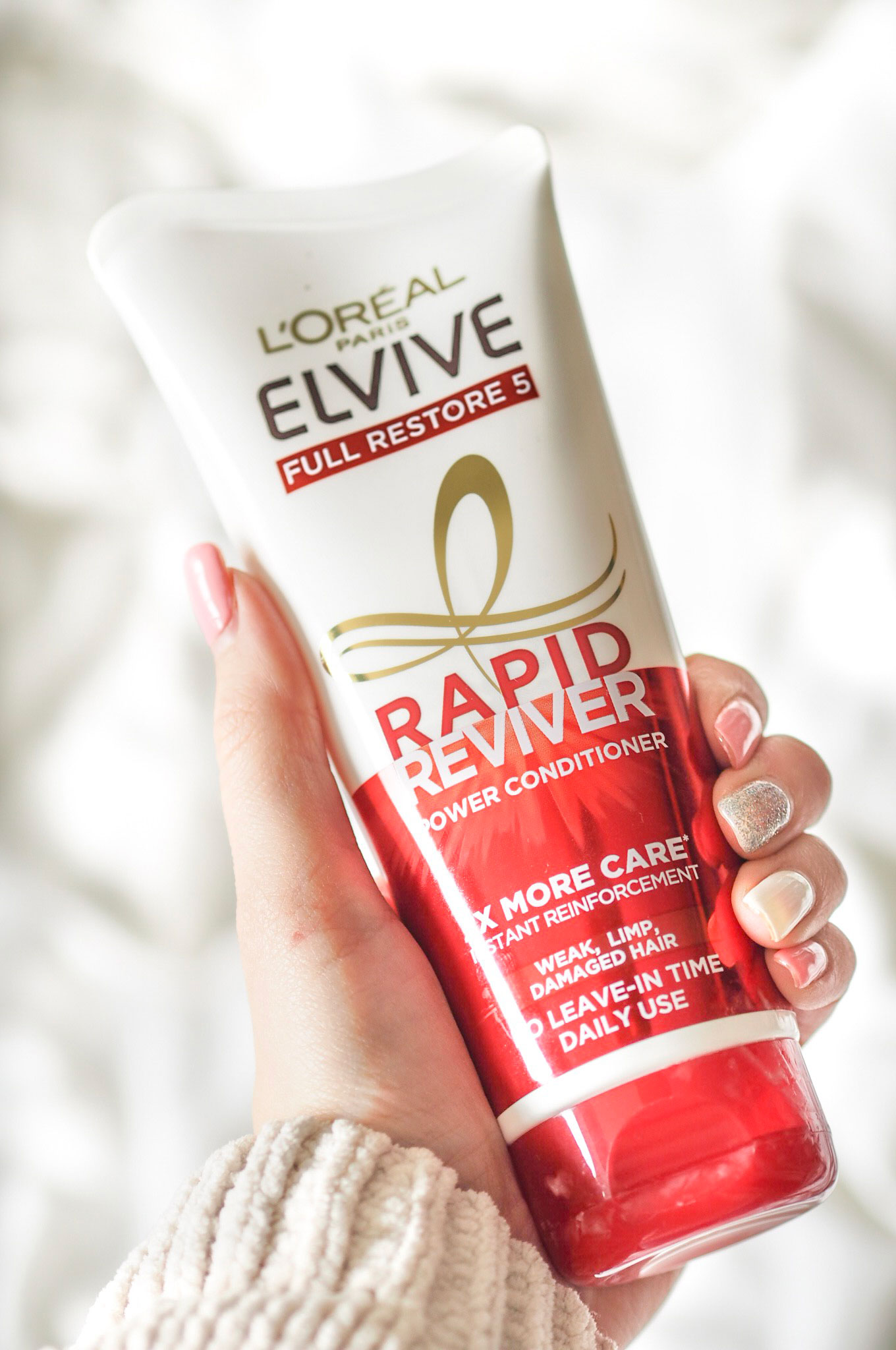 L'Oreal Elvive Rapid Reviver Conditioner Review