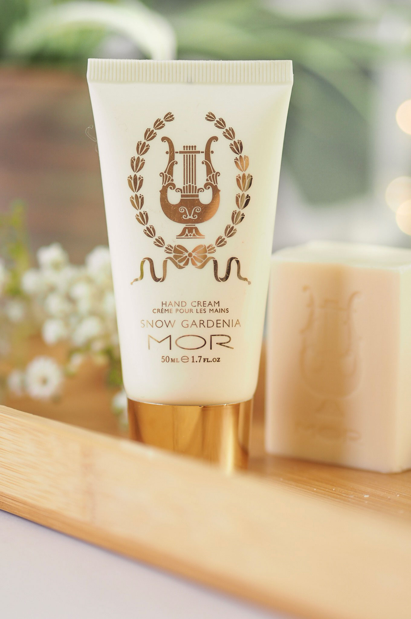 MOR Little Luxuries Snow Gardenia Hand Cream