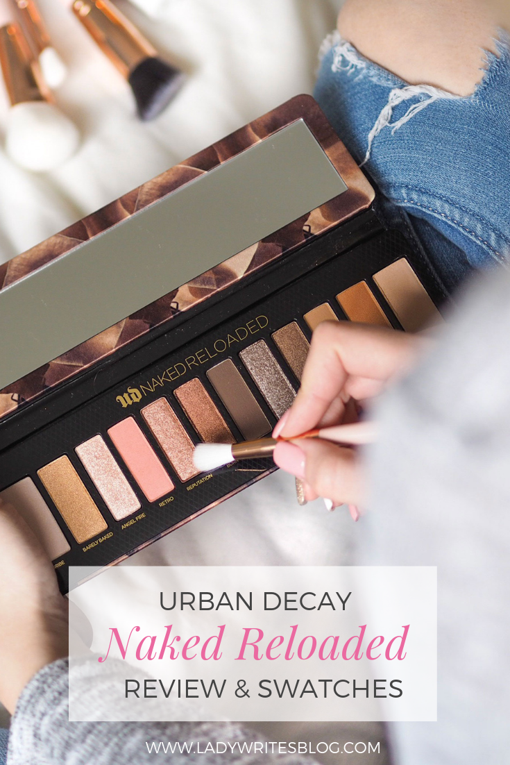 Urban Decay Naked Reloaded Review and Swatches