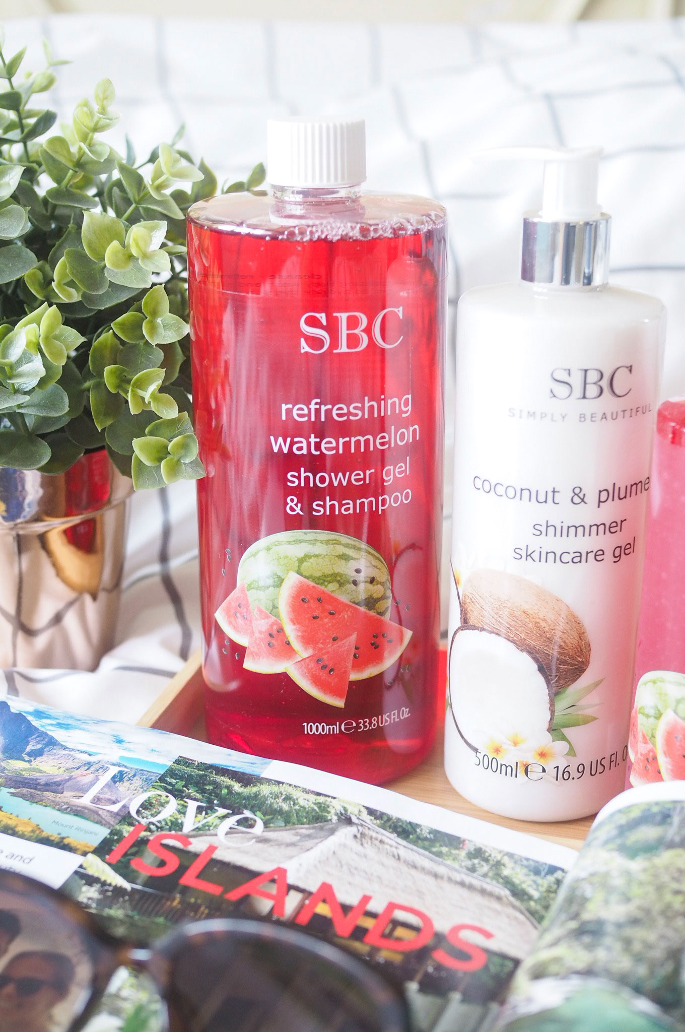 SBC Refreshing Watermelon Shower Gel and Shampoo Review