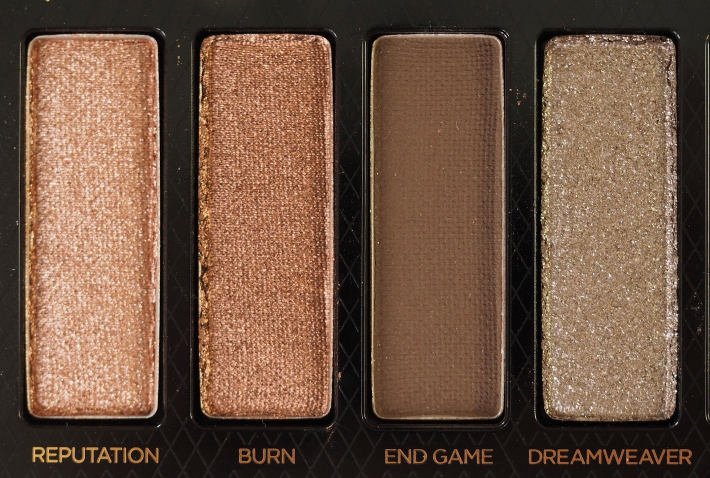 Urban Decay Naked Reloaded Palette Close Ups
