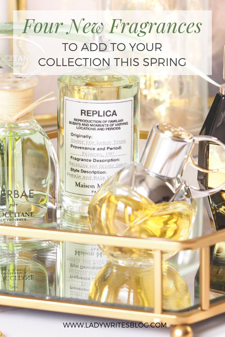 four new perfumes for spring
